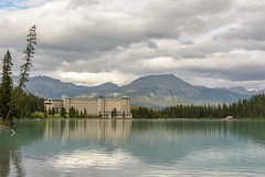 Fairmont Chateau Lake Louise (edwin.christopher) Tags: lakelouise ab