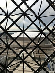 View of the Superdome out my window... (Christian Lau) Tags: city travel urban football louisiana neworleans nfl saints destination exploration superdome neworleanssaints