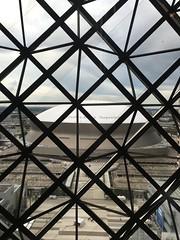 View of the Superdome out my window... (Christian Lau) Tags: city travel urban football louisiana neworleans nfl saints destination exploration superdome neworleanssaints