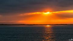 Haringvliet sunset (BraCom (Bram)) Tags: sunset cloud holland beach water netherlands clouds strand canon reflections zonsondergang waves widescreen dunes nederland wolken nl 169 haringvliet duinen stellendam wolk zuidholland goereeoverflakkee spiegeling southholland golfjes canonef24105mm bracom canoneos5dmkiii bramvanbroekhoven