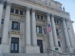 Entrances To The Essex County Courthouse, April 16,2016 (rustyrust1996) Tags: essexcounty newark newjersey courthouse entrances