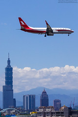 Shanghai Airlines Boeing 737-89P | B-5703 (HarenWang) Tags:   taiwan taipei travel fly flying veiw views trip traveling photography  airport aircraft taipeisongshanairport tsa songshan     international        shanghai airlines boeing 73789p b5703 shanghaiairlines    737 b737800 taipei101 101