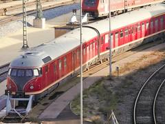 Br 612 abgestellt im BW Ulm (TrainspotterLitchi) Tags: br612 ulm bwulm alt historisch abgestellt