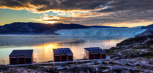 Midnight Sun in Greenland