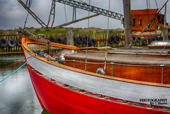 Old sailboat (esbenbrns) Tags: sailboat esben brns water wasser old canon5dmrk3 ef85mmf12iiusm boat outdoor hdr color colourful alt boot ausen segelboot