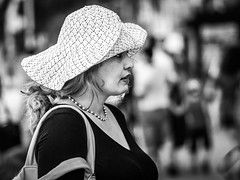 Capeline (totofffff) Tags: cannes croisette france french riviera street alpes maritimes mditerrane noir blanc black white festival film olympus om d e 10 mark ii 2