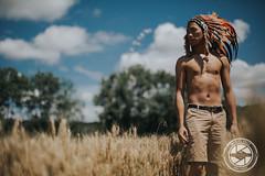Dreamcatcher (Manuel Bally Photography) Tags: wheat asian sunny skinnyboy skin 2016 boy countryside summer indian asianboy 5dmarkiii indianheaddress feather man portrait asianman field
