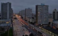 Улица Новый Арбат. Москва, Россия (varfolomeev) Tags: 2016 fujifilmxt10 russia россия ночь night