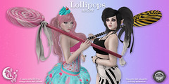 *NW* Lollipops (NeverWish) Tags: nw neverwish lollipops oz enchantment bubble goth candy