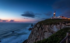 End of the day (Mika Laitinen) Tags: atlanticocean beach canon7dmarkii cliff cloud europe landscape leefilters longexposure nature ocean outdoor portugal rock sea seascape shore sky tokina1116mm water wideangle colares lisboa pt lighthouse nightfall dusk twilight