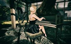 Opulence (Trixie Pinelli) Tags: mesh drd vinyl tableauvivant maitreya lelutka c88 collabor88 crossroads photocontest music opulence sl secondlife photography fashion