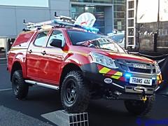 Paris, Mondial de l'Automobile 2016 (rescue3000) Tags: isuzu dmax d max sapeurspompiers sapeurs pompiers