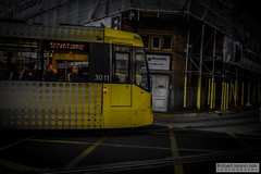ManchesterVictoria2016.10.09-30 (Robert Mann MA Photography) Tags: manchester manchestervictoria manchestercitycentre greatermanchester england victoria victoriastation manchestervictoriastation manchestervictoriarailstation victoriarailstation city cities citycentre architecture summer 2016 sunday 9thoctober2016 manchestermetrolink metrolink trams tram nightscape nightscapes night light lighttrails