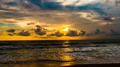 Sunset (ShehanT) Tags: sunset horizon sea sky skyart skyporn cloud cloudy cloudart twilight twilightsky sun nature naturephotography mothernature canoneos70d