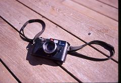 The Leica Factor (Jack Denny) Tags: nikon fm2 50mm f14 leica m6 cameraporn kodak ebx nyc highline analog film