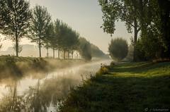 Frhnebel (claudialohmanns) Tags: landschaft niers fluss nebel