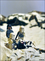 ProbeDroid2 (Bricks and Light) Tags: lego starwars hoth imperial probedroid droid snow toys collection georgelucas legophotography snowtrooper atst diorama pilot minifigures