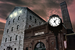 Distillery Spirit - Distillery Historic District - Toronto - Canada (D. Pacheu) Tags: toronto distillerie distillery dramatique dramatic pendule clock pacheu street city