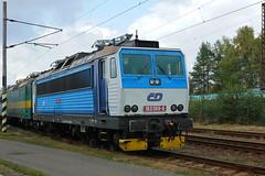 163-069 at Ceska Trebova depot (Karel1999 Over a Million views ,many thanks) Tags: vlak zug locomotives trains diesels ceska trebova