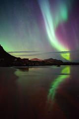 Aurora Polaris (Holger Neuert) Tags: norway norwegen neuste norge recnt lofoten recent sonyalpha7 2016 neueste september sonya7 flakstad nordland no batis225