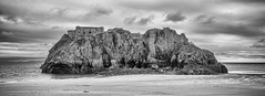 St. Catherine's Island Tenby (mdalmuld) Tags: island sea seashore wales tenby bw olympus omd em10 stcatherines pembrokeshire