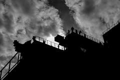 Whitney shadow (GDDigitalArt) Tags: highline manhattan nyc newyork city urban sky silhouette roof whitneymuseum