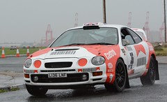 Toyota Celica - Deeley (rallysprott) Tags: sprott wdcc rallysprott 2016 promenade stages rally new brighton wirral wallasey motor club rallying sport car nikon d7100 toyota celica deeley
