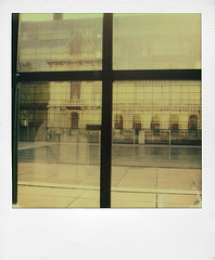 Palais des Beaux-Arts (Lille) (@necDOT) Tags: slr680 impossibleproject color600 polaroid lille musee