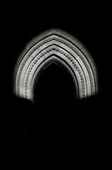 DSC_9139 (m.genca) Tags: prague praha praga light lightfestival night october october2016 nikon d7000 marcogenca marco genca prague2 namesti miru piazza portone door namestimiru