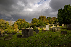 Haworth Cemetery (jackharrybill) Tags: haworth bronte light westyorkshire