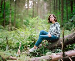 Daria. (vladimir_romansky) Tags: pentax 67 pentax67 film 6x7 medium format kodak tmax girl portrait push 105mm bokeh people indoor outdoor astic