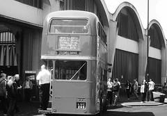 London transport RTL1076 Stockwell bus garage 21/06/14. (Ledlon89) Tags: bus london buses transport lt londonbus tfl stockwell