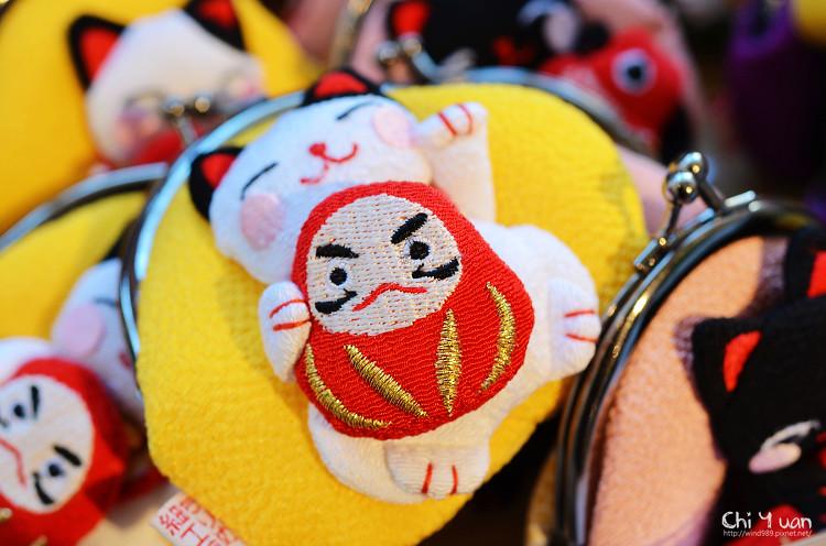 [日本。京都]二寧坂ちりめん細工館。無法抵擋的可愛布織小物