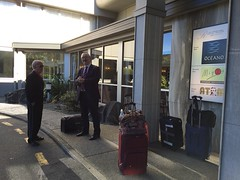 Nelson, NZ - Heading to airport for last leg of trip with Brother Ned Gerber, host extrodinare!