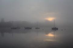 Sunrise (rogermarcel) Tags: sun mist boat brume waterscape rogermarcel