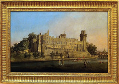 Warwick Castle - the South Front - G.A. Canale (called Caneletto) (alplatt) Tags: portrait seascape art museum painting landscape spain artist fineart painter artmuseum