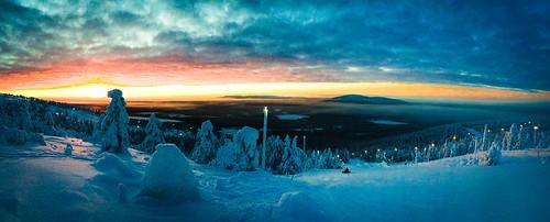 Levi sunset