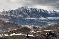 Coronet, South Island, New Zealand (bhawi) Tags: newzealand clouds landscape snowcapped southisland queenstown peaks coronet