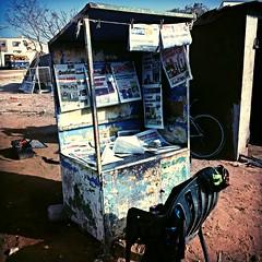 street corner newsagent (noodlepie) Tags: street shop corner newspaper senegal dakar newsagent