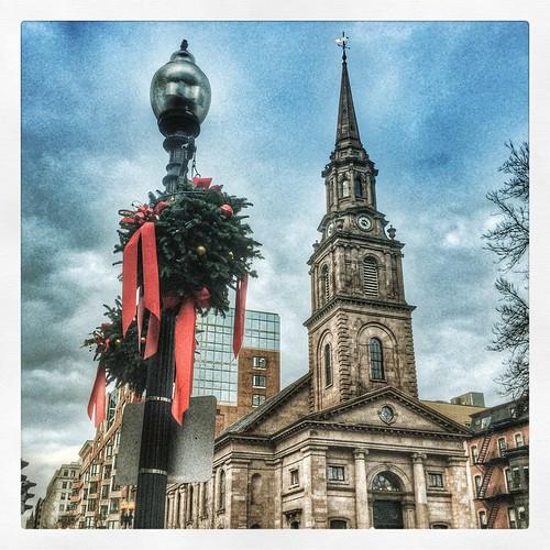 #ArlingtonStreetChurch #Boston #MerryChristmas #scenesofnewengland #igboston #ig_boston #igersboston #visitma #sone_happyholidays2014