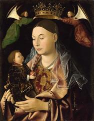 The Virgin and Child (lluisribesmateu1969) Tags: london nationalgallery virgin 15thcentury damessina