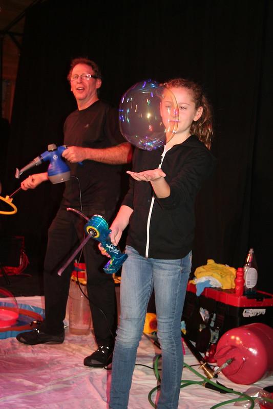 The Amazing Bubble Show 12-14-14