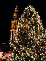 Kerst 2014 (zaqina) Tags: december toren martini 25 groningen markt kerstmis kerstboom kerst grote 2014