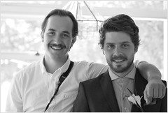 groom and best man (tesseract33) Tags: world travel friends light people blackandwhite art monochrome nikon weddings tesseract33 peterlangphotography