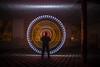 EMD #207 - Strobing Circle (Electrical Movements in the Dark) Tags: lightpainting lightart emd lapp lightartperformancephotography electricalmovementsinthedark