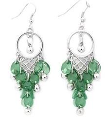 Glimpse of Malibu Green Earrings P5810-1