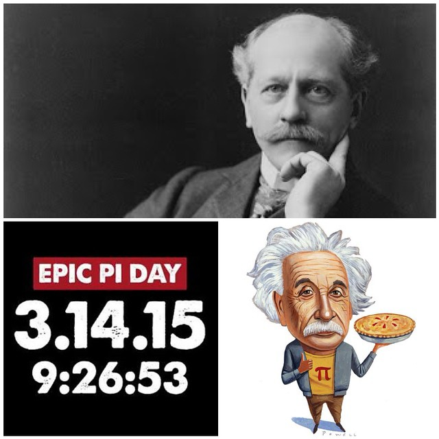 Today is,  Today is   Ultimate Pi Day  Albert Einstein Day Percival Lowell Day   #EpicPiDay #PiDayofTheCenturey #Einstein #Lowell