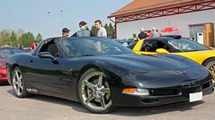 1999 Chevrolet Corvette (crusaderstgeorge) Tags: chevrolet sweden 1999 sverige corvette classiccars americancars americanclassiccars blackcars ockelbo 1999chevroletcorvette