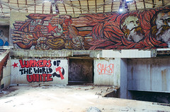 Buzludzha (zoipman) Tags: building abandoned monument decay ufo communism bulgaria urbanexploration soviet derelict socialism ussr urbex buzludzha