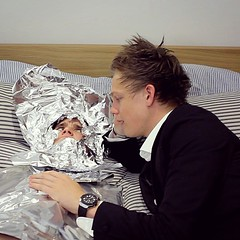 Last night while you were all out partying, I was trying to keep @Joe_Sugg warm after his ice bath. (ashlibean) Tags: ice night last out was bath warm all you partying trying his keep were after while i joesugg